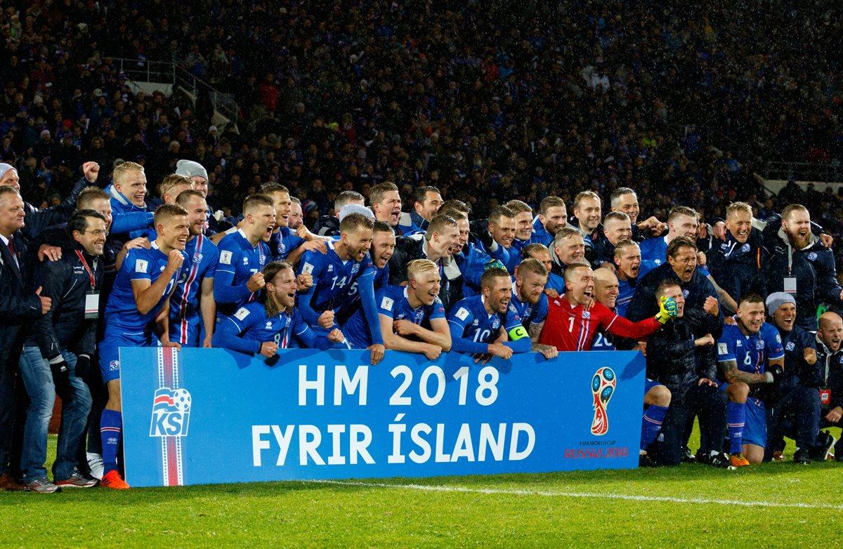 Una histórica Islandia clasifica al Mundial de Rusia 2018