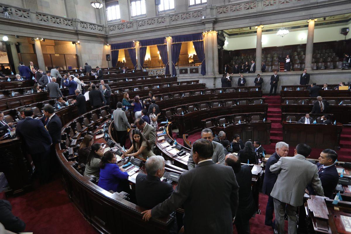 La idea de realizar una sesión para desconocer a la Cicig cuenta con poco apoyo en el Congreso. (Foto Prensa Libre: Hemeroteca PL)