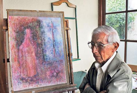 En 1951, Juan de Dios González  triunfó en la Exposición Nacional de Pintura y obtuvo el primer premio con un cuadro  expresionista.