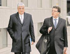 Carlos Vielmann, en una foto del 10 de enero de 2017, cuando ingresaba a una audiencia judicial en España. (Foto Prensa Libre: Hemeroteca PL)