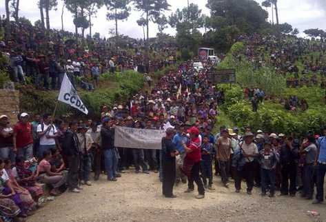Al proyecto se oponen 12 comunidades. (Foto Prensa Libre: Erick Ávila)