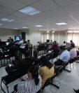 Los sindicados del caso IGSS-Pisa-Chiquimula ante el Tribunal Undécimo. (Foto Prensa Libre: Hemeroteca PL)