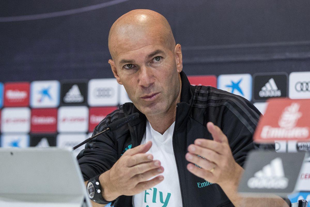 """Zidane defiende de las críticas al Real Madrid: """"No estamos mal"""""""