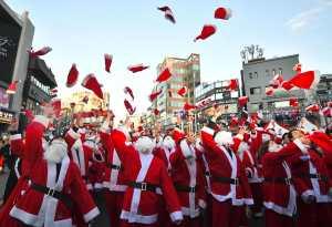 El mundo festeja la Nochebuena