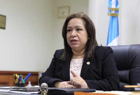 Nora Segura, contralora general de Cuentas.