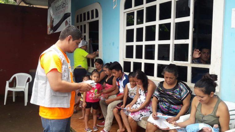 Los censistas visitarán las casas de los guatemaltecos a partir del 23 de julio hasta el 16 de agosto. (Foto Prensa Libre: INE)