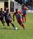 Iztapa y Xelajú MC empataron en el estadio El Morón en la fecha 21 del Apertura. (Foto Prensa Libre: Carlos Paredes)