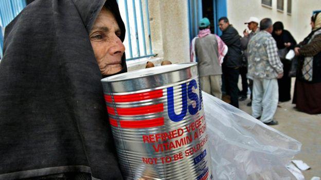La ayuda a los palestinos es una porción relativamente baja de la ayuda financiera estadounidense a Medio Oriente. AFP