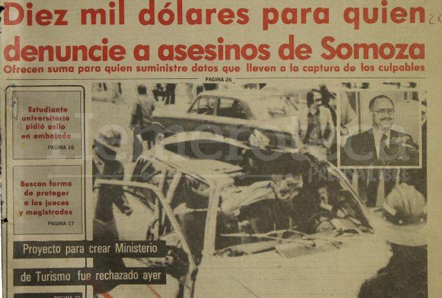 Asesinan al ex dictador nicaragüense Anastasio Somoza en 1980 – Prensa Libre