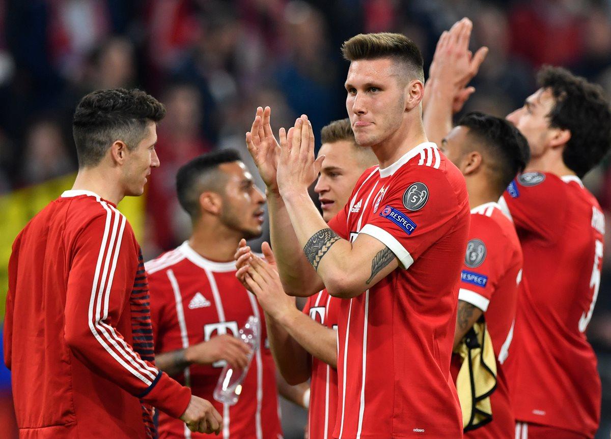 El Bayern clasifica a las semis de la Champions con un insípido empate