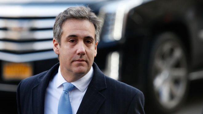 """En una declaración ante el tribunal, Cohen dijo que sentía que era su deber encubrir lo que describió como """"los hechos sucios"""" de Trump. GETTY IMAGES"""