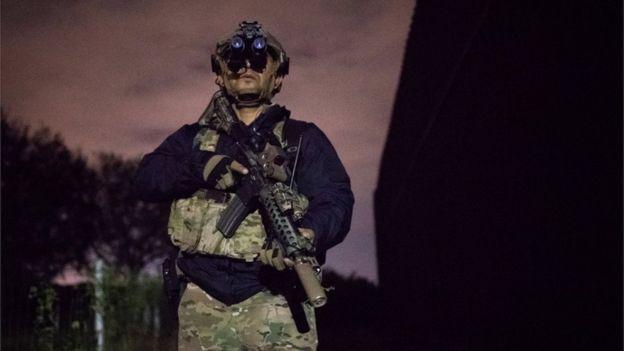 EE. UU. ya ha desplegado a agentes de la Unidad Táctica de Patrullaje Fronterizo en Brownsville, Texas. REUTERS