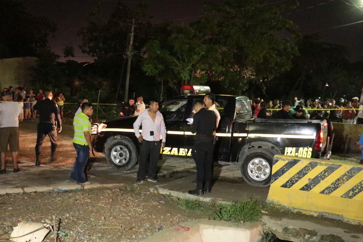 Ataque contra PNC deja un muerto y dos heridos en Izabal