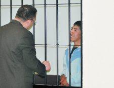 Francisco Natanael Chun Mejía  fue condenado a 20 años de prisión por homicidio. (Foto Prensa Libre: Alejandra Martínez)