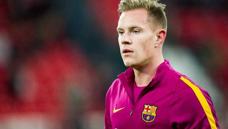 Ter Stegen continuará ligado al Barcelona según información vertida este martes. (Foto Prensa Libre: EFE).
