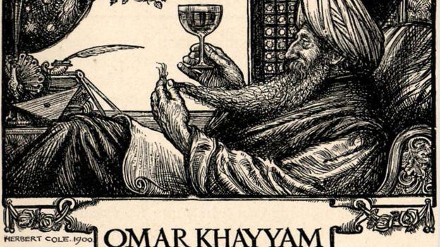 Omar Jayam (Khayyám, en inglés) llegó a ser popular que su nombre y figura adornaron desde clubes literarios hasta juegos de cartas a inicios del siglo XX. ALAMY