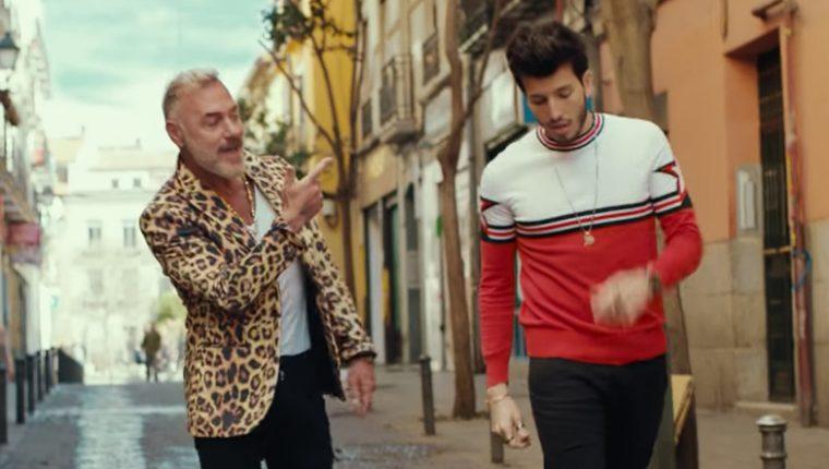 Gianluca Vacchi y Sebastián Yatra protagonizan un tema musical llenó de energía. (Foto Prensa Libre: Tomada del video Love)