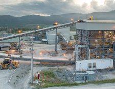 Panorámica de la mina El Escobal, en San Rafael Las Flores, Santa Rosa. (Foto Prensa Libre: www.tahoeresources.com)