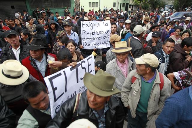 Violencia, coacción y clientelismo son las principales casos encontrados por Mirador. (Foto Prensa Libre: Hemeroteca PL)
