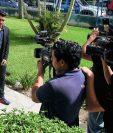 Marco Tulio Ciani, captado en el Proyecto Goal. (Foto Prensa Libre: Carlos Vicente)