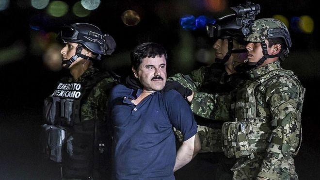 Guzmán, de 61 años, enfrenta 11 cargos en el que es visto como el mayor juicio por narcotráfico de la historia de EE.UU. GETTY IMAGES