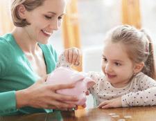 La educación financiera es importante fomentarla desde los más pequeños. (Foto Prensa Libre: www.newsroom.mastercard.com)