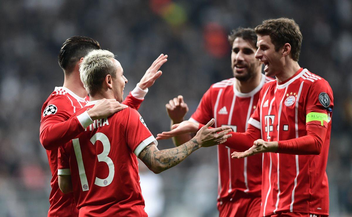 Ni el gato del Besiktas pudo detener a la máquina del Bayern de Múnich