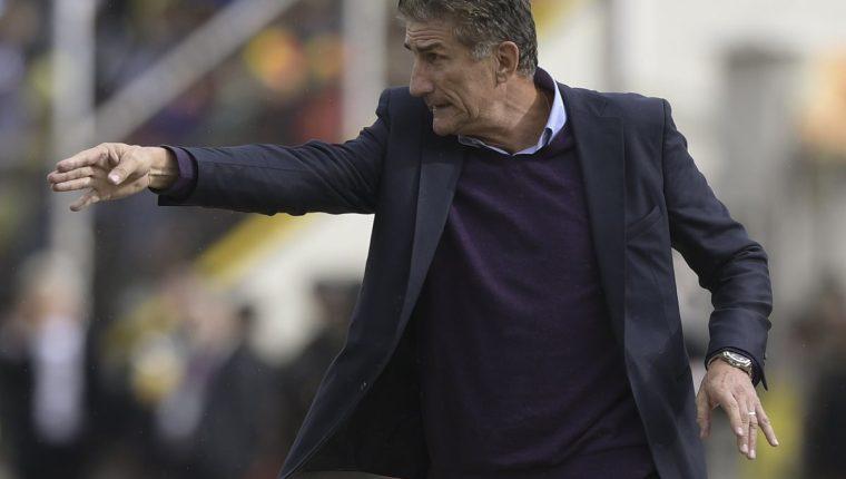Edgardo Bauza es el actual técnico de Argentina. (Foto Prensa Libre: EFE)