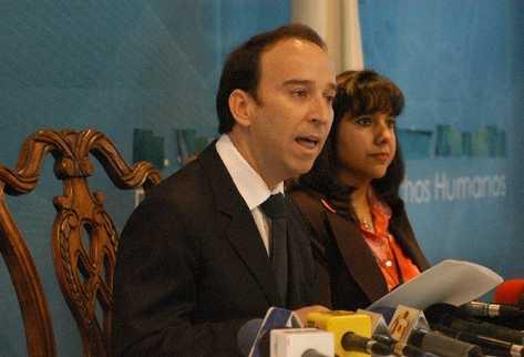 Jorge de León Duque, procurador de Derechos Humanos, exige investigar a autores materiales.