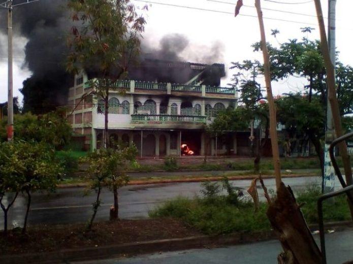 Cuatro adultos y dos niños mueren en un incendio en Managua