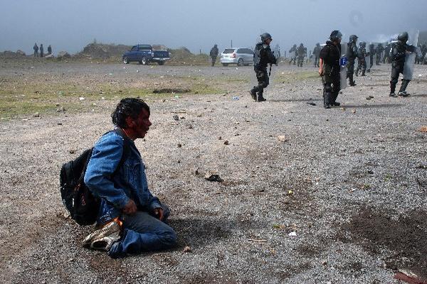 Seis campesinos murieron durante las protestas del 4 de octubre del 2012. (Foto Prensa Libre: Archivo)
