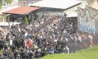 El hacinamiento de las cárceles sigue siendo un problema para el Sistema Penitenciario, que no logra tener el control total de los centros. (Foto Prensa Libre: Hemeroteca PL)