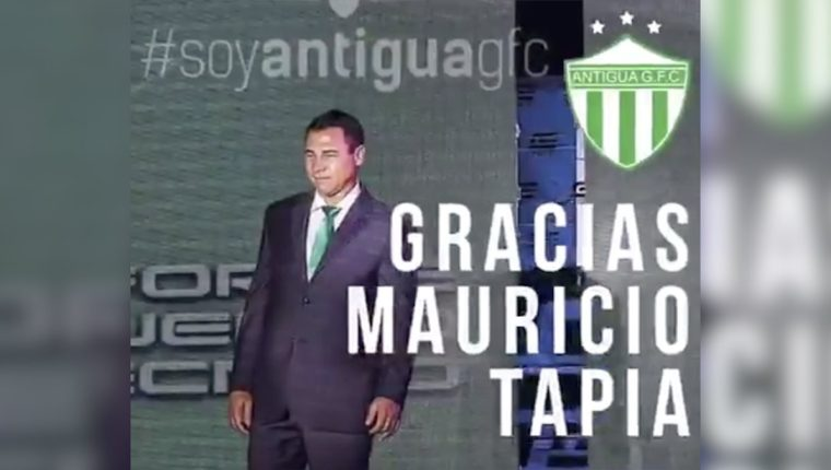 Mauricio Tapia deja de ser entrenador de Antigua GFC después un torneo complicado. (Foto Prensa Libre: Hemeroteca PL)