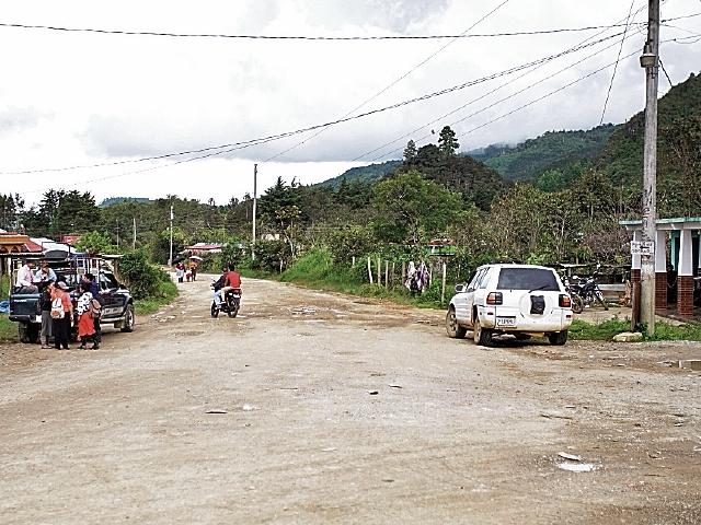 En el tramo final se observa el mayor atraso y conflictividad social, en  Ixquisis, San Juan Ixcoy, Huehuetenango. (Foto Prensa Libre: Juan Carlos Rivera)