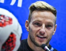 Rakitic ha sido uno de los jugadores responsables de que Croacia esté en la final del Mundial 2018. (Foto Prensa Libre: AFP)
