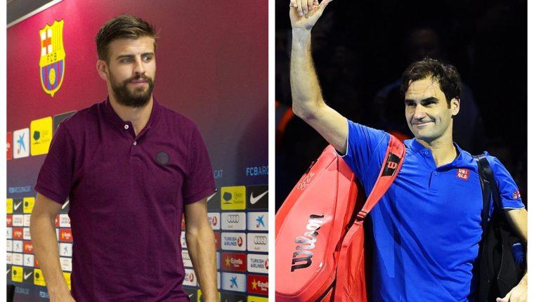 Gerard Piqué habló sobre Roger Federer y aclaró la situación. (Foto Prensa Libre: Hemeroteca PL)