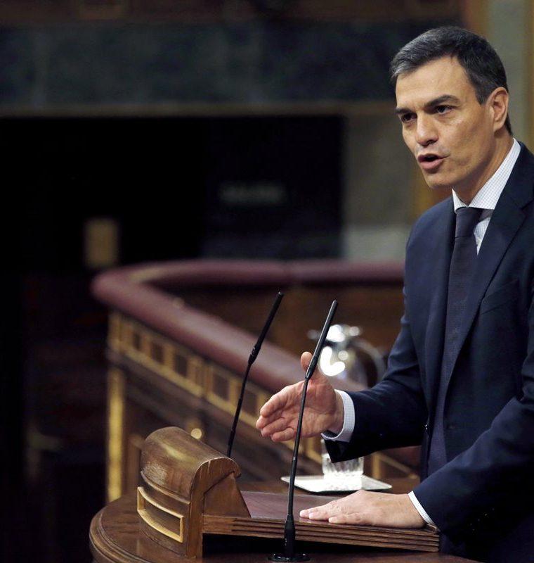 Alemania saludó el nombramiento de Pedro Sánchez como presidente del gobierno español. (Foto Prensa Libre: EFE)