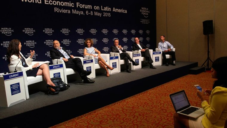 El Foro Económico Mundial reúne a diversas personalidades.