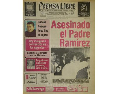 1983: asesinan a fray Augusto Ramírez Monasterio