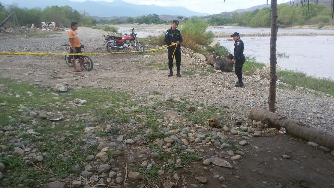 Pescadores hallan cráneo humano en río Grande