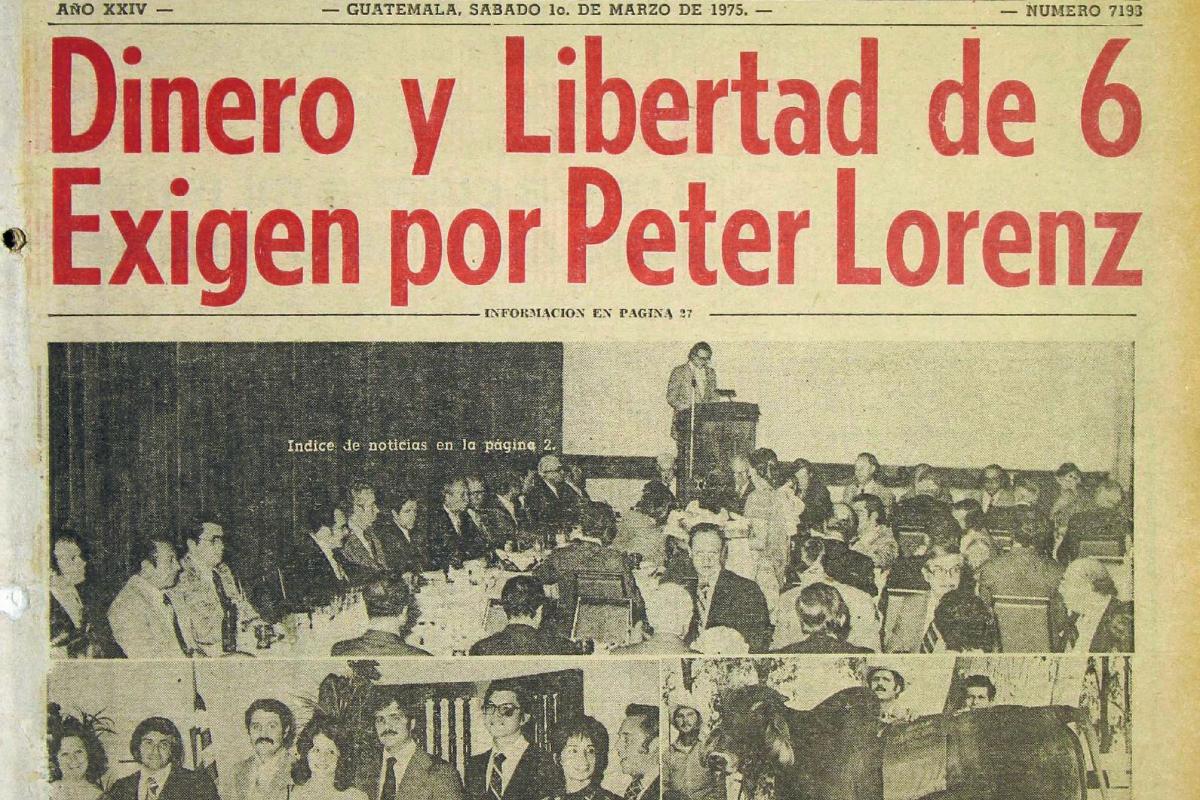 El Ministro de Finanzas Jorge Lamport presento politica economicas. Foto: Hemeroteca PL