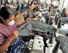 El sector de articulos de vestuario lidera las exportaciones de Guatemala durante el primer bimestre del año, según las estadísticas de comercio exterior. (Foto Prensa Libre: Hemeroteca PL)