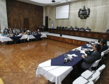 La Cámara Penal accedió a la solicitud del Ministerio Público. (Foto Prensa Libre: Paulo Raquec)