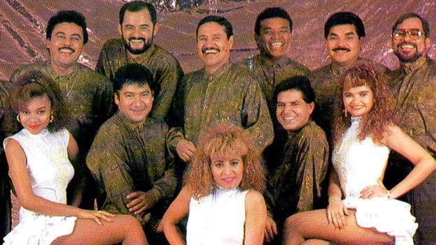 Banda Blanca exportó el género punta, propio de la etnia garífuna, más allá de las fronteras de Honduras en los 90. EMI MUSIC (CORTESÍA PILO TEJEDA).