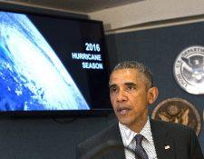 Barack Obama visita instalaciones de la Agencia para el Manejo de Emergencias.(EFE).