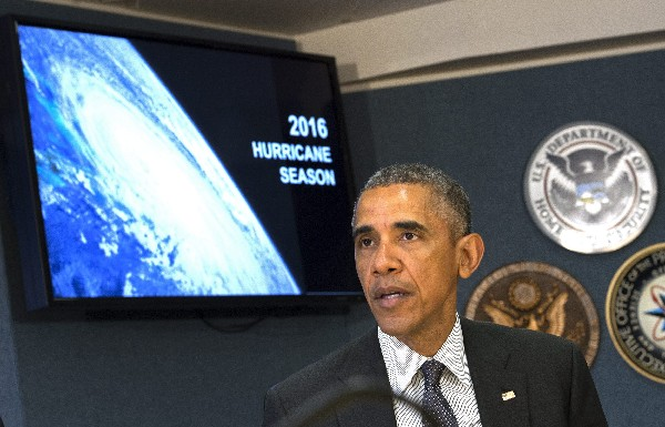 Obama urge a ciudadanos a estar preparados ante nueva temporada de huracanes