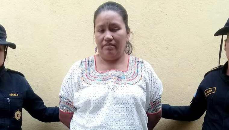 María Magdalena Cuc es señalada de tres delitos. (Foto Prensa Libre: Dony Stewart).