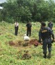 En el Polígono de la Cuarta Brigada Militar, se dinamitan 46 minas Claymore.(Foto Prensa Libre: Mindef)