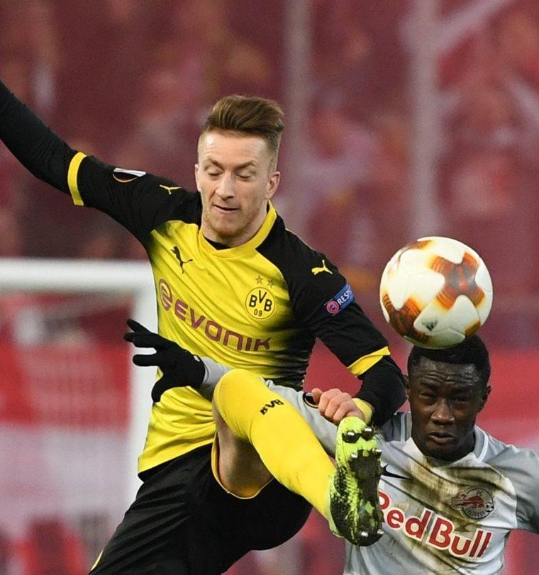 Marco Reus del Borussia Dortmund no fue incluido en la convocatoria para los amistosos de la selección alemana. (Foto Prensa Libre: EFE)