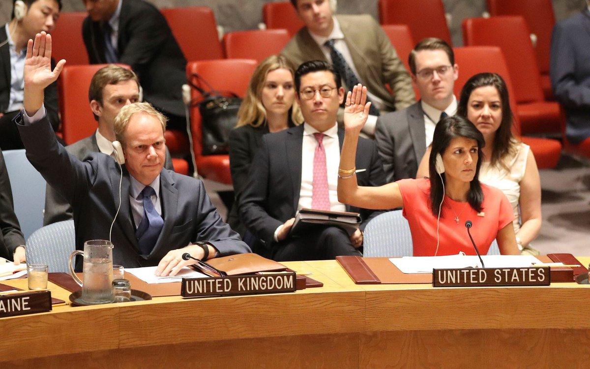 La embajadora de Estados Unidos en Naciones Unidas rechazó la decisión del presidente Jimmy Morales de expulsar a Iván Velásquez. (Foto Prensa Libre: @NikkiHaley)